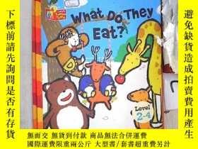 二手書博民逛書店What罕見Do They Eat?(LEVEL 2-4) 他們吃什麽?(2-4級)(013)Y203004