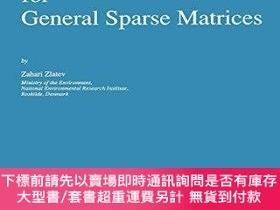 二手書博民逛書店Computational罕見Methods For General Sparse MatricesY2551