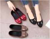 老北京布鞋女平跟單鞋時尚軟底工作鞋百搭休閒豆豆鞋 水晶鞋坊