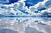 【拼圖總動員 PUZZLE STORY】玻利維亞-烏尤尼鹽湖 日系/Epoch/旅行/1500P/迷你