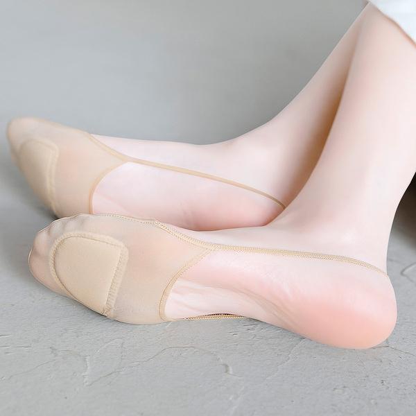 半掌襪 防磨腳襪子女吊帶船襪隱形襪淺口防滑高跟鞋前腳掌襪半掌襪前掌墊 店慶降價