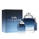 COACH 時尚藍調男性淡香水40ml(贈)同款男性小香水 4.5ml Vivo薇朵