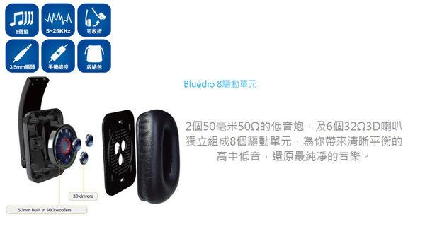 [nova成功3C] Bluedio R2-WH 高傳真立體聲耳機