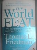 【書寶二手書T9/原文小說_IHT】The world is flat _精平裝: 平裝本