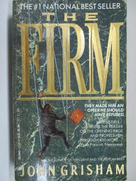 【書寶二手書T1/原文小說_B4K】The Firm_John Grisham