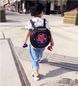 個性兒童書包輪胎書包旅行雙肩背包寶寶書包 幼兒園書包 男孩書包YXS  潮流衣舍