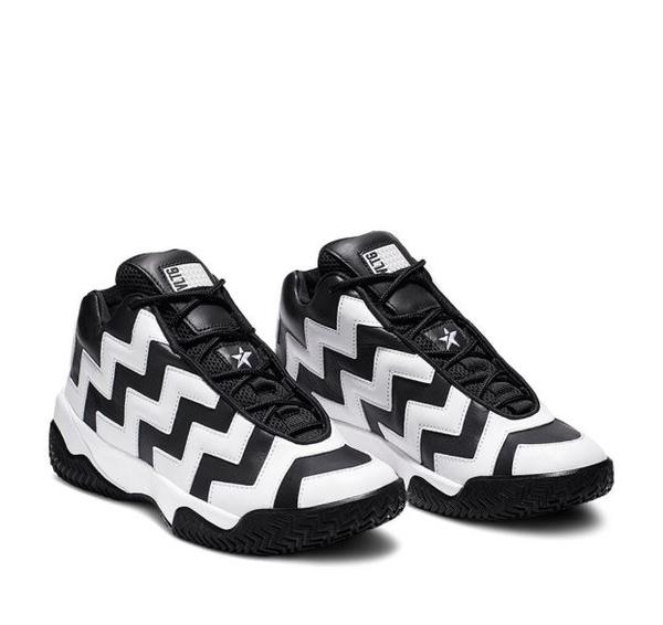CONVERSE-VLTG MISSION-V 女款黑白色高筒運動休閒鞋-NO.565061C