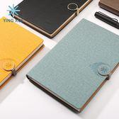 筆記本子禮盒記事本加厚手賬本商務筆記本創意定制簡約日記手帳本 秘密盒子