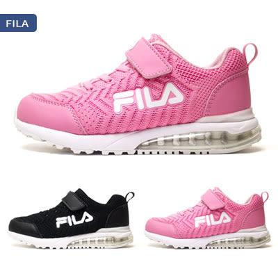 【錢豪童裝童鞋】FILA編織氣墊運動鞋(19~24號)