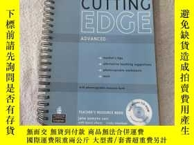 二手書博民逛書店Cutting罕見Edge: Advanced - Teache
