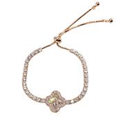 時尚閃耀鋯石水晶手鍊女韓版簡約個性氣質學生手環森系閨蜜手飾品