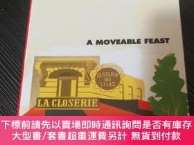 二手書博民逛書店a罕見moveable feast 流動的盛宴 英文原版 海明威Y497017 海明威 VINTAGE