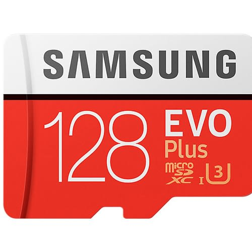 Samsung 三星 EVO Plus 128GB microSDXC 記憶卡