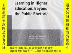 二手書博民逛書店Evaluating罕見Student Learning in Higher Education: Beyond