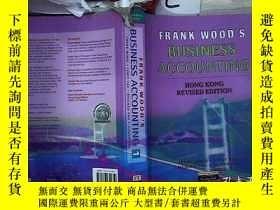 二手書博民逛書店FRANK罕見WOOD S BUSINESS ACCOUNTING 1 弗蘭克·伍德的商業會計1(215)Y2