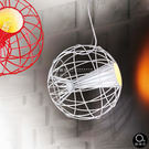 吊燈★創意設計 自由曲線單吊燈 (白)✦燈具燈飾專業首選✦歐曼尼✦