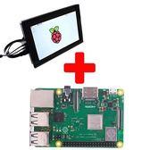 【優惠組合】樹莓派3B+加10吋HDMI觸控螢幕
