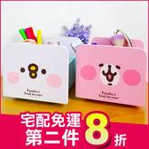 《限時宅配免運!》卡娜赫拉 兔兔 P助 正版 旋轉 收納盒 筆筒 置物盒 化妝盒 生日禮物 B01299