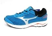 2019新款 MIZUNO(大童)慢跑鞋RIDER 22 JR 兒童慢跑鞋 運動鞋 K1GC183303 (水藍) 【胖媛的店】