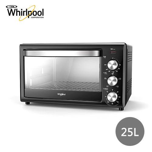 【Whirlpool惠而浦】25公升機械式旋風電烤箱 WTOM251B