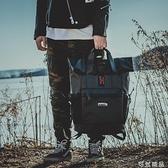 背包男潮嘻哈 書包男原宿ulzzang高中學生港風旅行電腦後背包 雙12全館免運