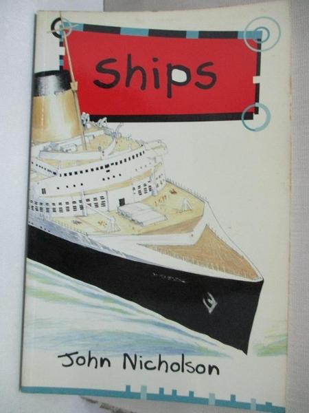 【書寶二手書T1/兒童文學_GE8】Solo Transport: Ships
