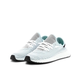 ISNEAKERS ADIDAS Originals Deerupt Runner 慢跑鞋 粉綠 女 CQ2911
