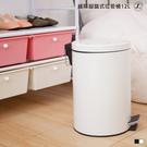 緩降腳踏式垃圾桶12L【JL精品工坊】紙簍 垃圾桶 掀蓋垃圾桶 腳踏垃圾桶