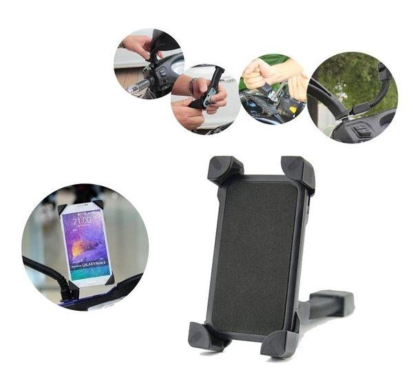 Sin Cyuan 固定式機車後視鏡手機固定車架SC 機車手機支架現貨