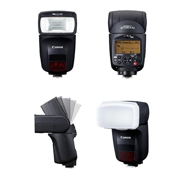 【聖影數位】CANON Speedlite 470EX-AI 閃光燈 彩虹公司貨  刷卡+免運
