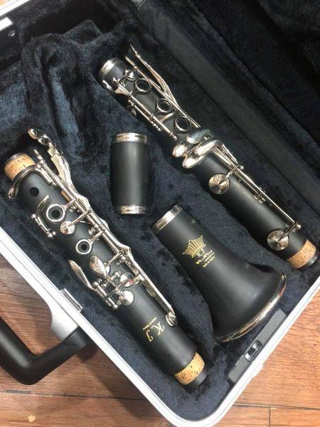 凱傑樂器 KJ VI NING 豎笛 全黑檀木 全台製 製工精細