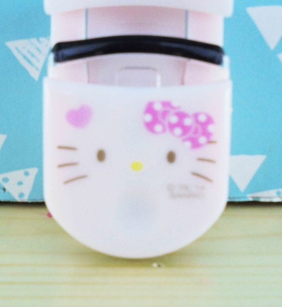 【震撼精品百貨】Hello Kitty 凱蒂貓~睫毛夾-粉臉