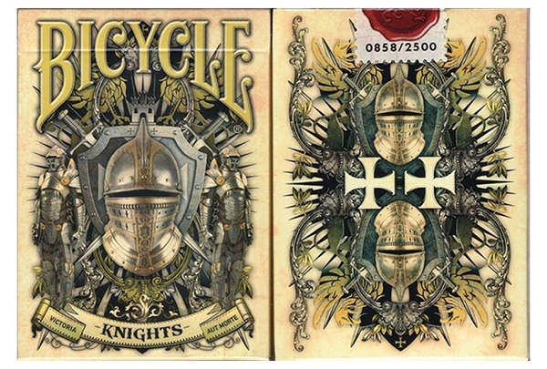 【USPCC撲克】 Bicycle Knights Playing Cards
