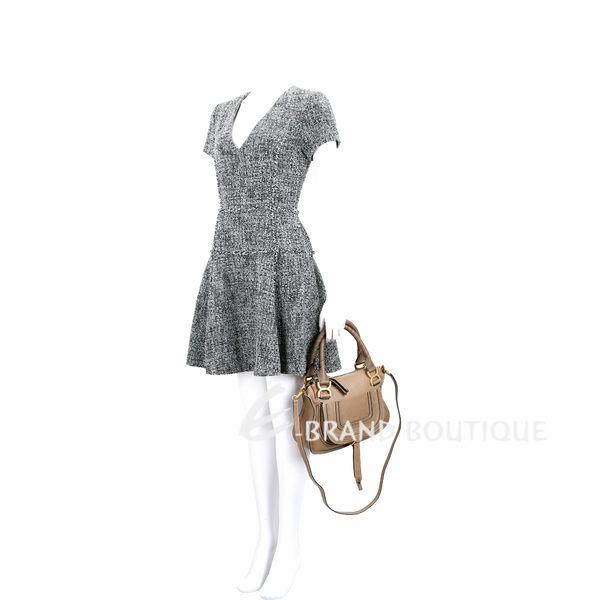 CHLOE 小型 牛皮手提肩背Marcie Bag(堅果色) 1840461-02