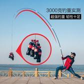 魚竿手竿碳素超輕超硬釣魚竿垂釣鯽魚竿漁具套裝28調台釣竿限時八九折