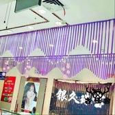 彩帶【2條裝】水晶絲帶商場珠寶店裝飾品創意吊頂【古怪舍】