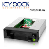 ICY DOCK DuoSwap 2.5  & 3.5  HDD+SSD SATA 雙重硬碟抽取盒 ( MB971SP-B )