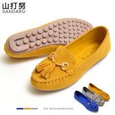 豆豆鞋 鐵飾流蘇車線休閒鞋- 山打努SANDARU【09C5#28】