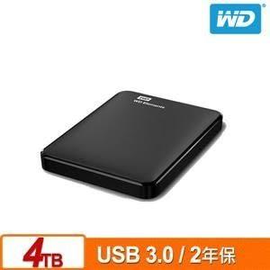 【台中平價鋪】全新 WD Elements 4TB 2.5吋行動硬碟(WESN) 公司貨