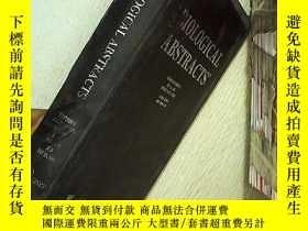 二手書博民逛書店BIOLOGICAL罕見ABSTRACTS 生物學文摘 2002 13Y203004