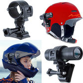 mio MiVue M738D M733 M658行車紀錄器支架機車行車記錄器車架安全帽行車紀錄器固定座