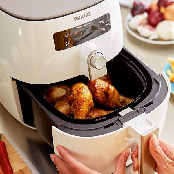 《搭贈五大好禮》Philips HD9642 飛利浦 健康氣炸鍋 (附串籤+串燒架+披薩烤盤+蛋糕模+煎烤盤)