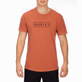 Hurley M LTWT BOXED TEE SS BLACK T恤