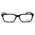 RayBan 雷朋眼鏡 基本方框款 近視眼鏡 RB5296D 2000 黑 久必大眼鏡
