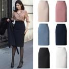窄裙 春新款半身裙高腰包臀裙通勤韓版職業裙中長款一步裙西裝裙 格蘭小鋪
