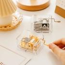 音樂盒 雜啊迷你創意透明手搖發條金屬機芯八音盒音樂盒閨蜜情侶生日禮物 夢藝家
