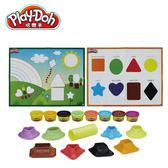 Play-Doh【培樂多】色彩形狀學習遊戲組+八色補充罐