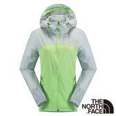 The North Face 女 風衣外套-芽綠/灰白 【GO WILD】