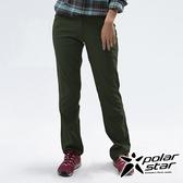 PolarStar 女 Soft Shell保暖褲『橄欖綠』P18416 戶外│露營│釣魚│休閒褲│釣魚褲│登山褲│耐磨褲