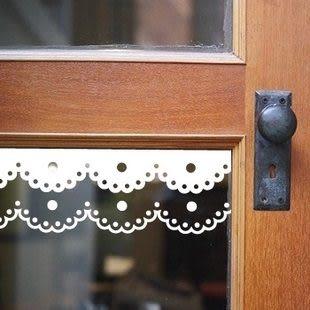 墙貼 玻璃貼 走道橱窗橱柜貼- kor843